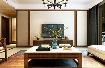 富裕型110平米三中式风格客厅装修案例