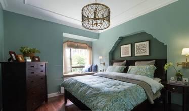 经济型80平米三室一厅美式风格卧室效果图