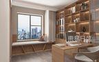 豪华型120平米三室两厅日式风格书房效果图