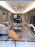 富裕型120平米三现代简约风格客厅装修图片大全