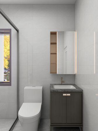 80平米公寓现代简约风格卫生间图