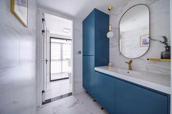 豪华型110平米三室两厅法式风格卫生间装修图片大全
