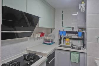 富裕型80平米三欧式风格厨房装修图片大全