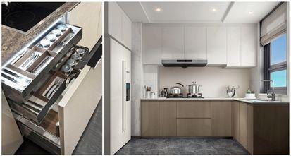 豪华型140平米三室一厅现代简约风格厨房效果图