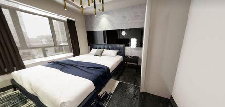 50平米一居室轻奢风格卧室图片大全