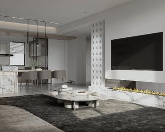 20万以上140平米现代简约风格客厅装修图片大全