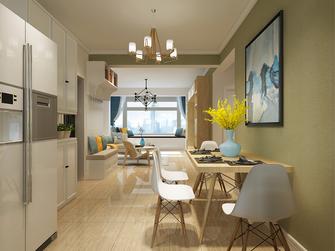 10-15万100平米三室两厅北欧风格餐厅效果图