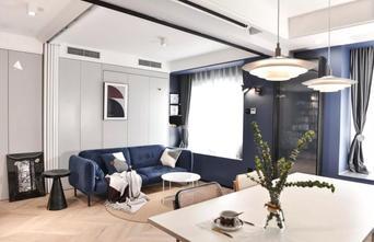 3-5万70平米北欧风格客厅图片