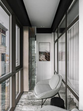 豪华型110平米三室两厅现代简约风格阳光房效果图