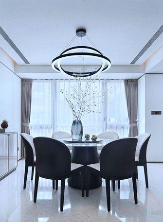 豪华型140平米四室一厅中式风格餐厅图片
