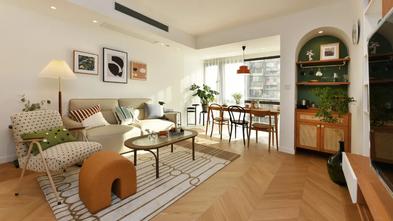 5-10万80平米三室两厅日式风格客厅欣赏图