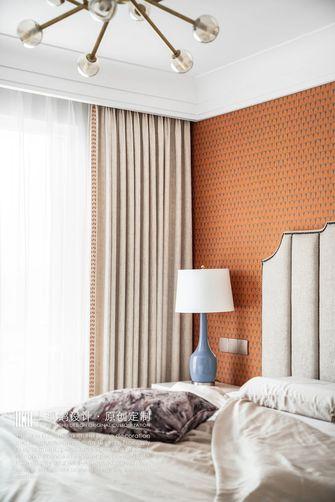 豪华型140平米三室两厅美式风格卧室设计图