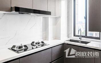 20万以上110平米三公装风格厨房装修案例