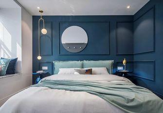 经济型80平米三北欧风格卧室设计图