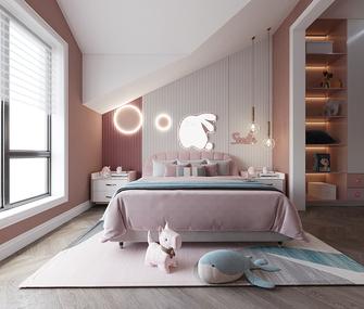 豪华型140平米别墅轻奢风格青少年房装修效果图