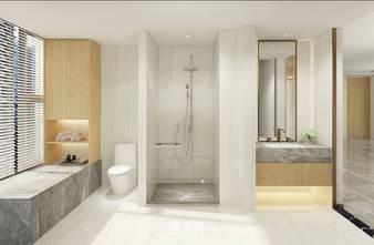 豪华型140平米四室两厅日式风格卫生间装修效果图