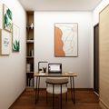富裕型70平米轻奢风格书房欣赏图
