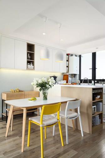 20万以上110平米四室一厅北欧风格餐厅装修案例