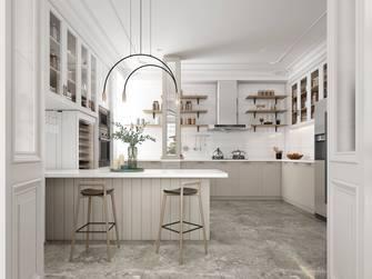 豪华型140平米三混搭风格厨房设计图