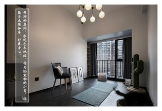 富裕型80平米四现代简约风格健身房欣赏图