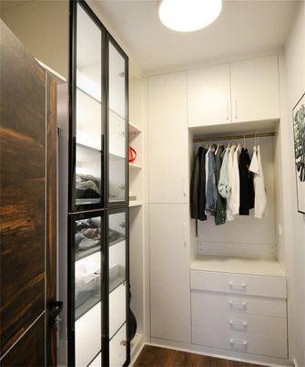 富裕型80平米三室两厅北欧风格衣帽间装修案例