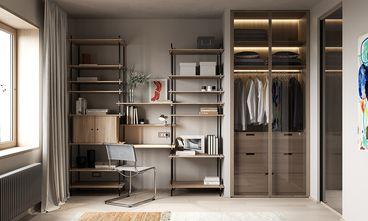 经济型100平米三室两厅混搭风格衣帽间欣赏图