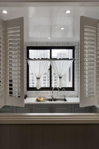 富裕型110平米三室两厅欧式风格玄关效果图