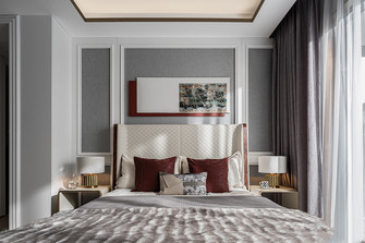 三室两厅法式风格卧室图