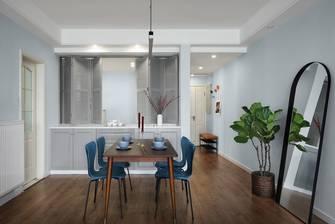 富裕型110平米三室两厅北欧风格餐厅图