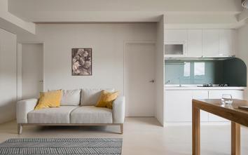 经济型50平米北欧风格客厅装修效果图