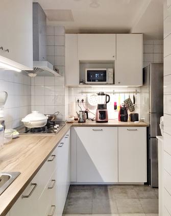 富裕型三室两厅中式风格厨房装修图片大全
