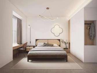 经济型110平米田园风格卧室图