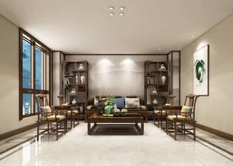 140平米别墅英伦风格书房设计图