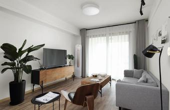 经济型50平米公寓北欧风格客厅设计图