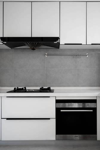 富裕型130平米三室两厅法式风格厨房装修图片大全