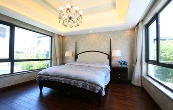 20万以上140平米别墅美式风格卧室欣赏图