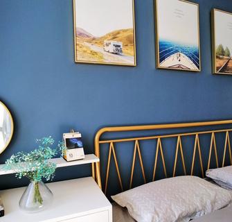 70平米三室一厅北欧风格卧室装修效果图