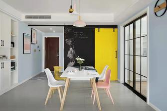 经济型120平米四室一厅北欧风格玄关图