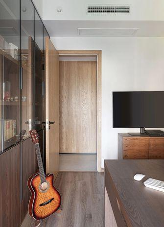 120平米三室一厅现代简约风格书房装修效果图