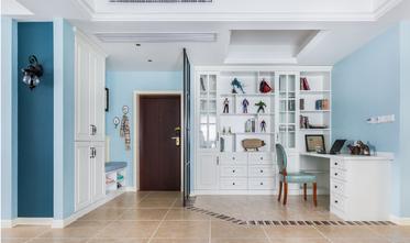 100平米三室两厅美式风格玄关效果图