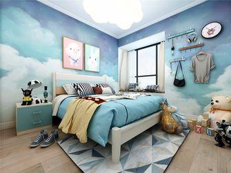 富裕型120平米三室两厅轻奢风格卧室装修图片大全