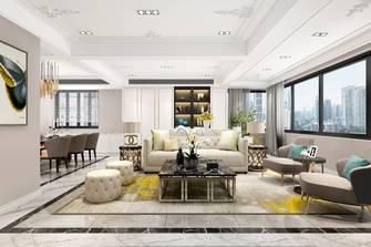 20万以上140平米复式欧式风格客厅图片
