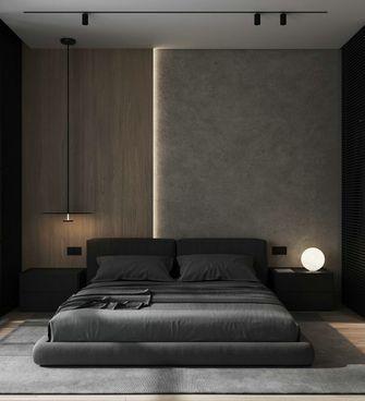 5-10万60平米现代简约风格卧室效果图