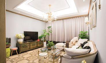 豪华型140平米四室三厅法式风格客厅装修图片大全