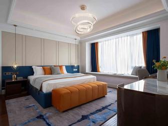 豪华型140平米三室一厅美式风格卧室图