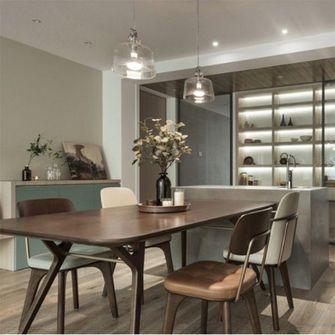 富裕型140平米四室一厅现代简约风格餐厅装修效果图