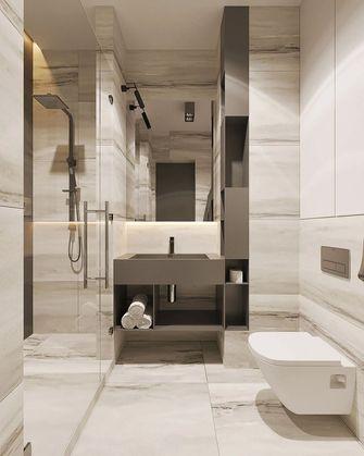 富裕型50平米现代简约风格卫生间装修案例