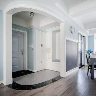 富裕型120平米三室两厅美式风格玄关装修效果图