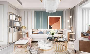 120平米四室两厅美式风格客厅装修案例
