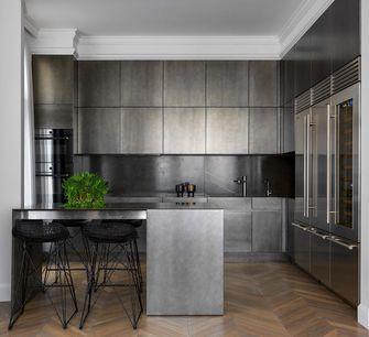 富裕型130平米四混搭风格厨房效果图